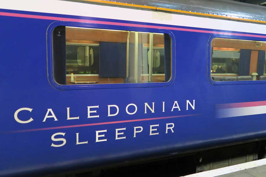 The Caledonan Sleeper - overnight between London and Fort William