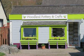 Woodland Pottery and Crafts in Strontian