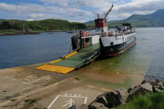 The Summer Ferry to Tobermory departing from Kilchoan