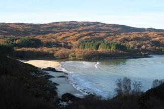 Ardtoe, The Singing Sands and Eden Too