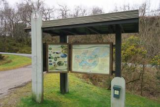 The Alphabet Trail and Salen woods