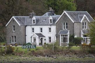 The Kilcamb Lodge Hotel and Restaurant in Strontian